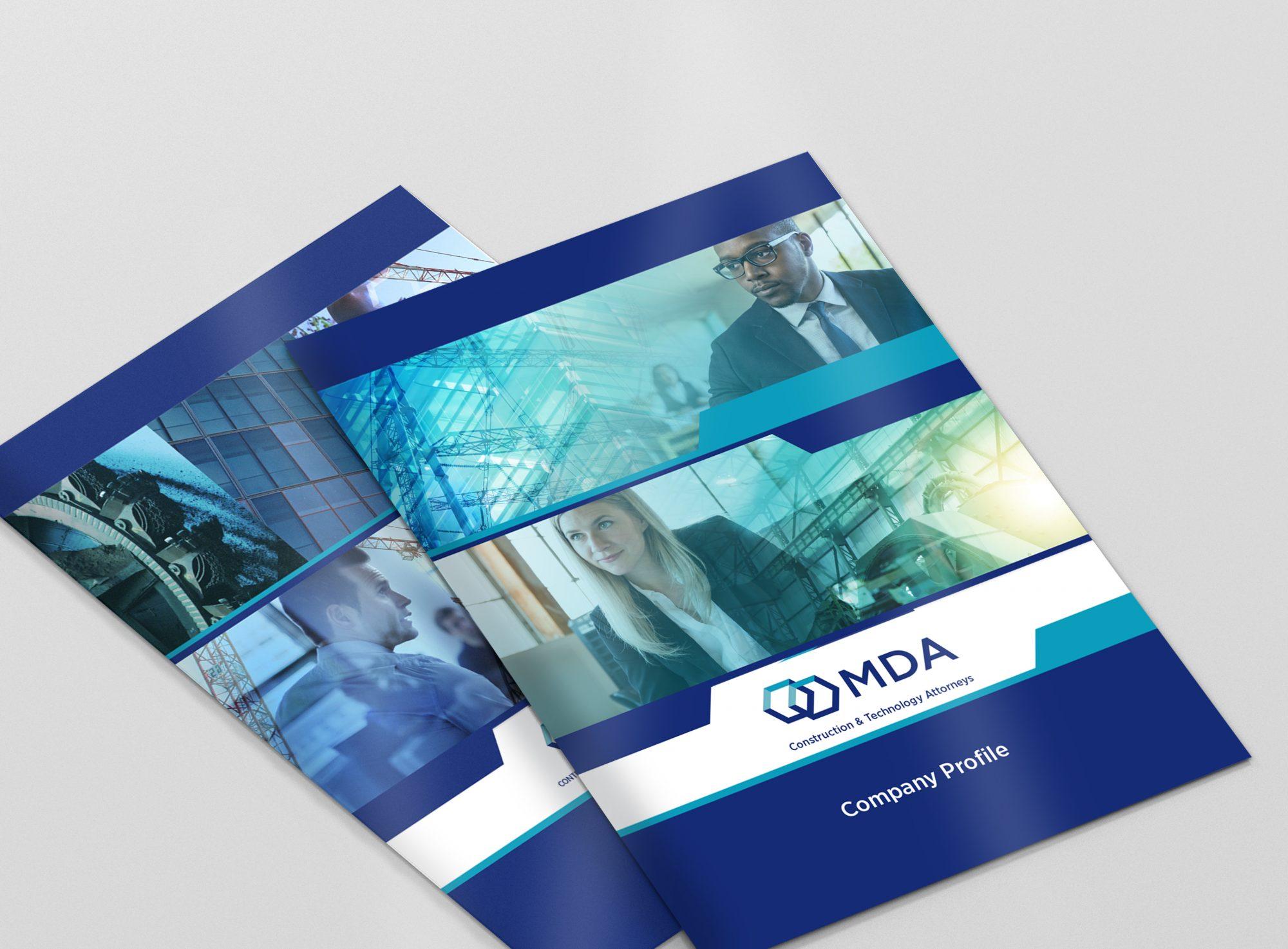 Carol Cole Graphic Design for MDA