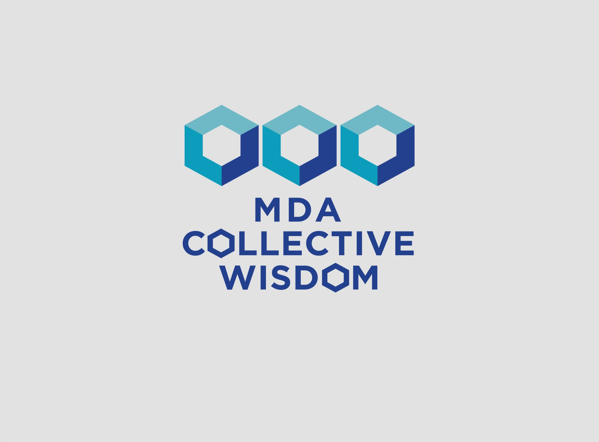 MDA Collective Wisdom Logo Brand Concept
